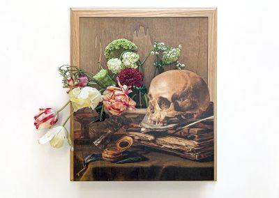 Vanitas schilderij EN/OF vaas