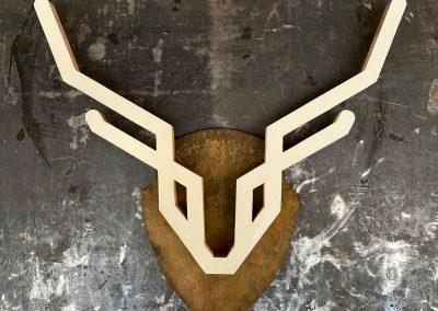 Diervriendelijke trofee EN/OF hert icoon